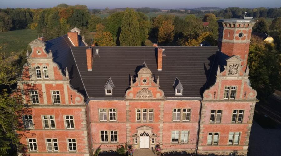 Dreh für das Hospiz Schloss Bernstorf