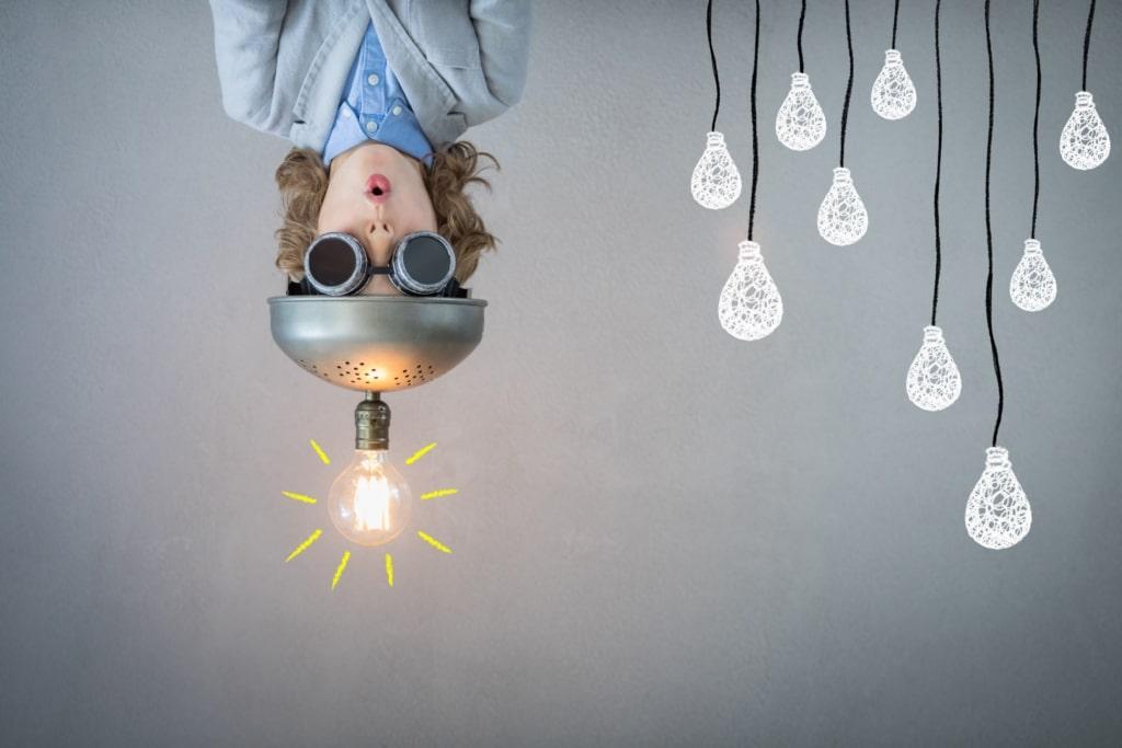 Halt deine Ideen nicht zurück